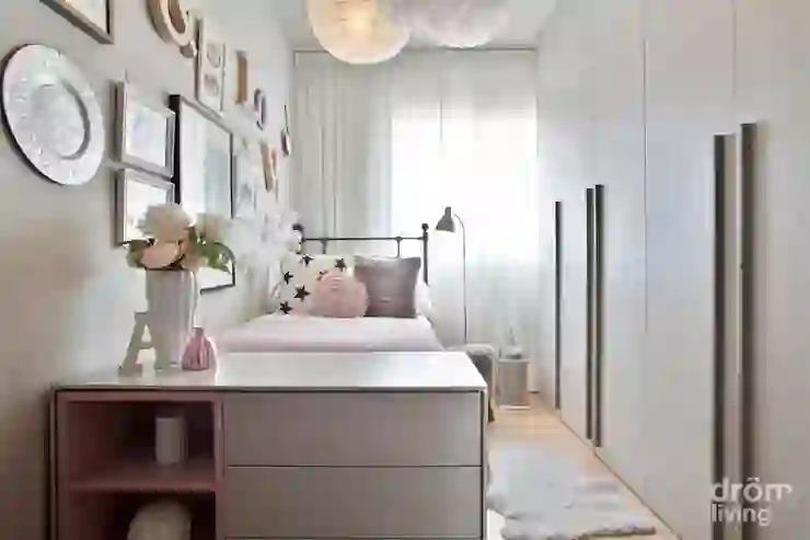 Ý tưởng thiết kế phòng ngủ nhỏ gọn gàng