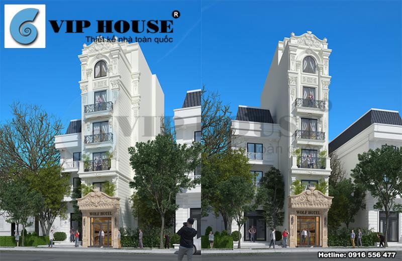 10+ mẫu thiết kế khách sạn mini thu hút du khách