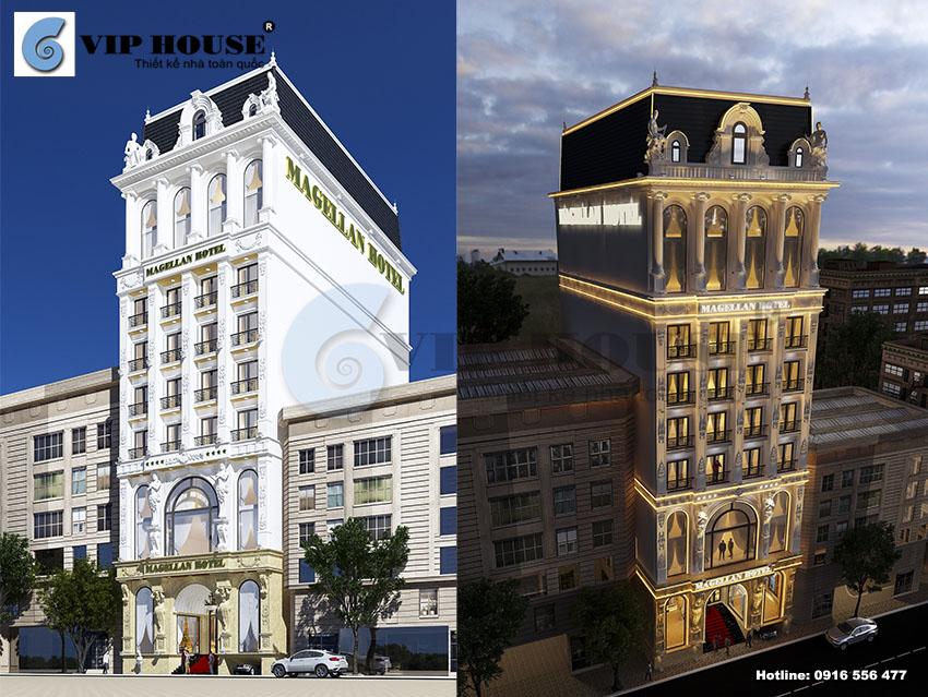 """Siêu phẩm thiết kế khách sạn 4 sao mang tên """"Sóng Gió"""""""