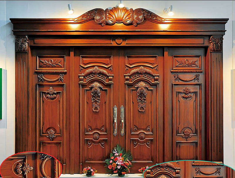 Một số mẫu cửa gỗ biệt thự Pháp đẹp để tham khảo