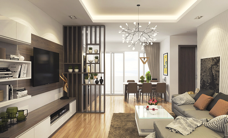 Chi phí thiết kế nội thất chung cư 70m2 hết bao nhiêu?