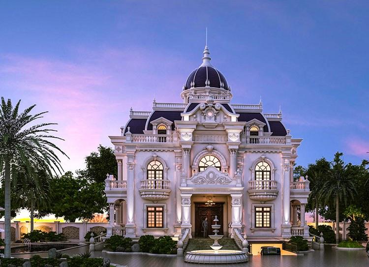 Xây biệt thự Pháp cần bao nhiêu tiền?