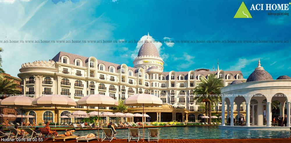 9+ Kiến trúc khách sạn 4 sao khẳng định thương hiệu doanh nghiệp