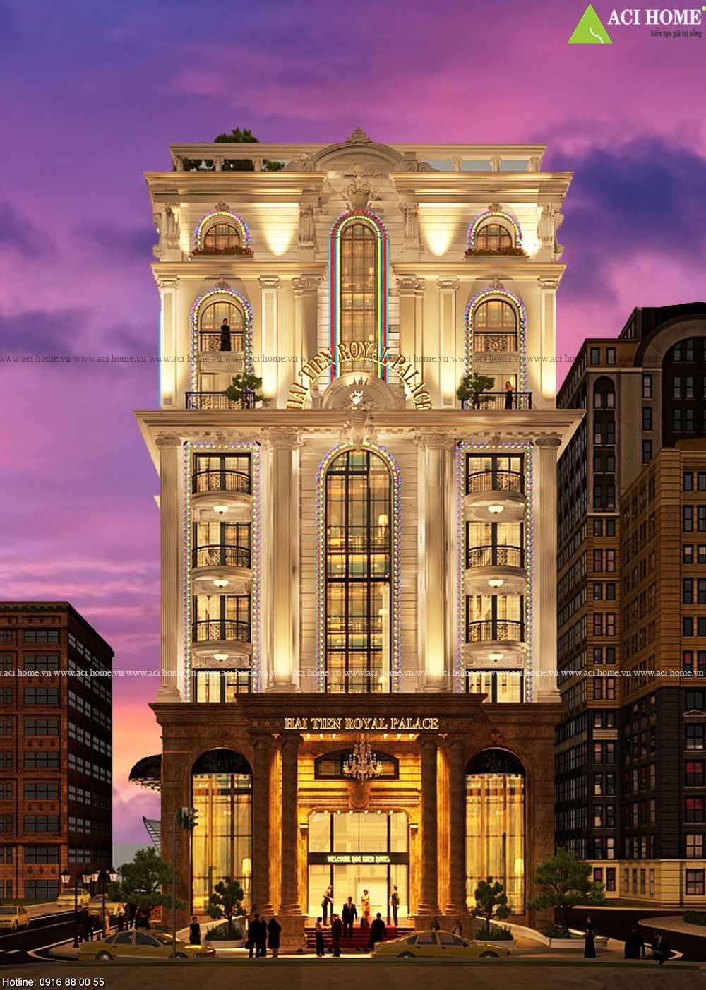 9+ Khách sạn mini trên phố tối ưu công năng tốt nhất