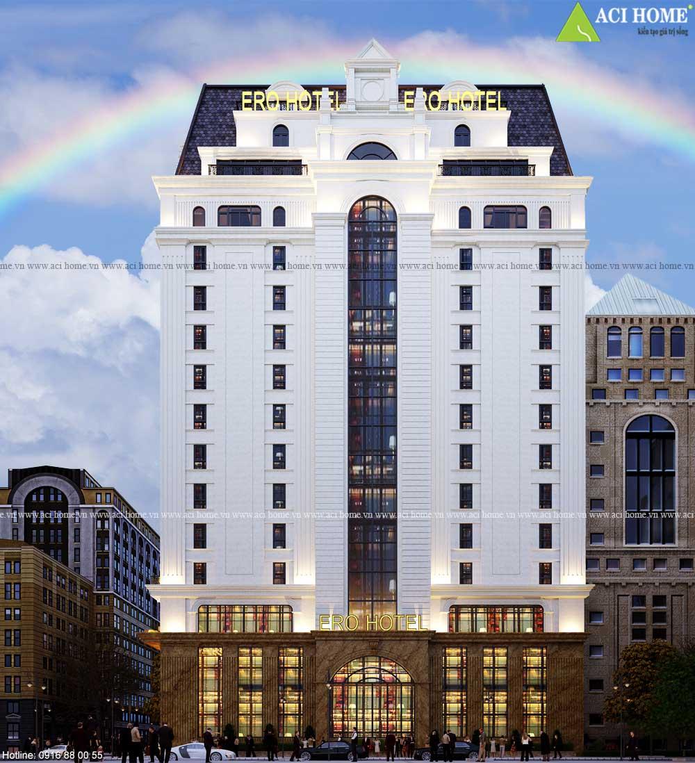 Xu hướng thiết kế xây dựng khách sạn thu hút lữ khách hiện nay